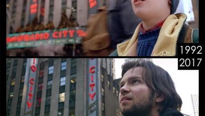 Путешествие по местам съемок: парень повторяет кадры из культовых фильмов