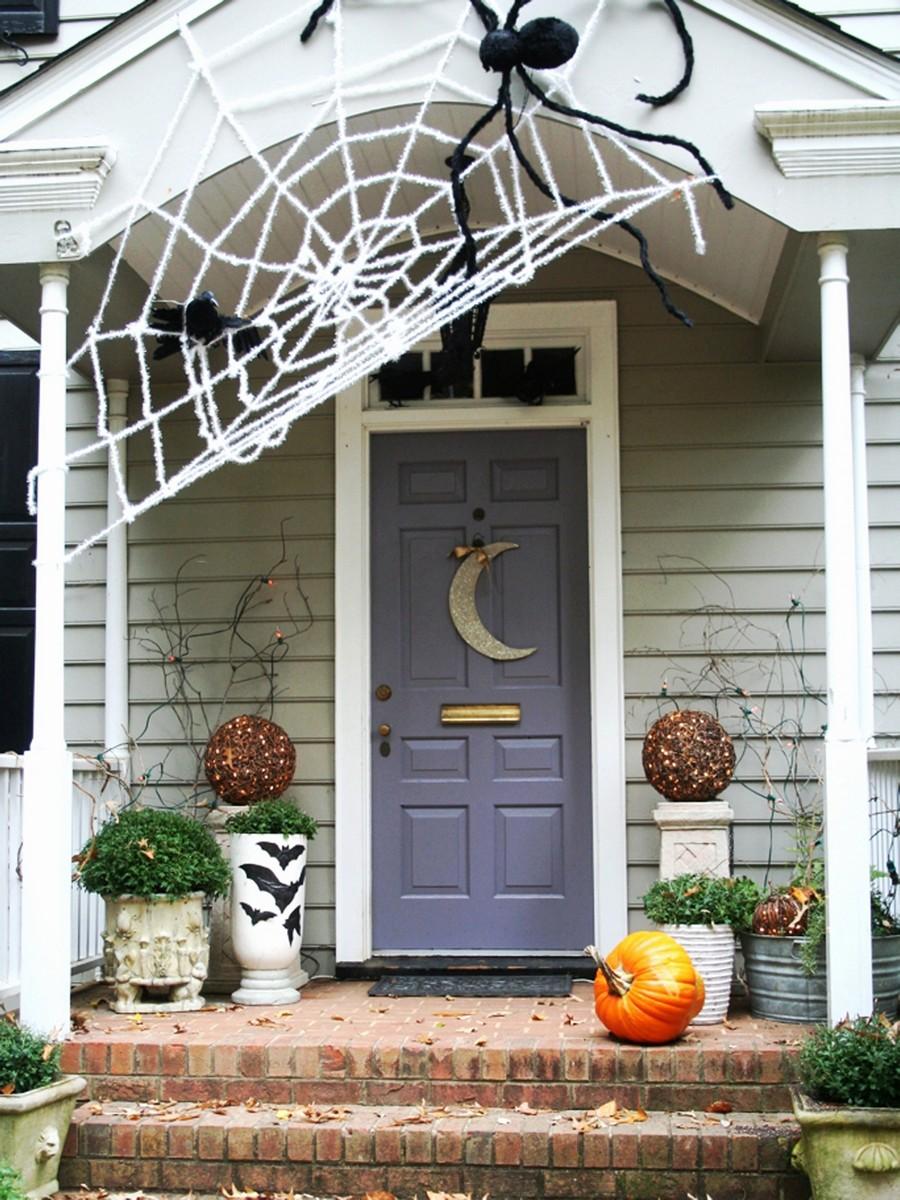 Hanging Porch Decorations Elegant Halloween Porch Decorations diy halloween outdoor decorations
