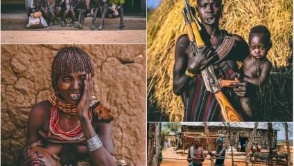 Жизнь племени хамар в фото
