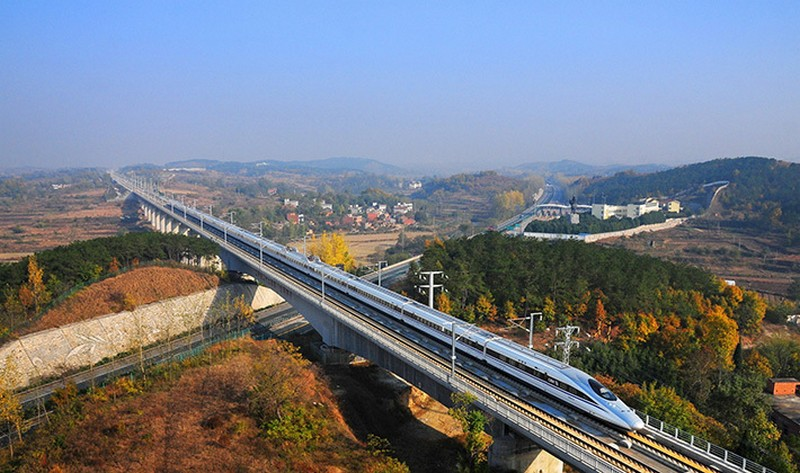 Тяньцзиньский виадук (Китай) — 113 км