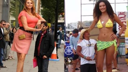 Самые высокие женщины в мире: истории и фотографии