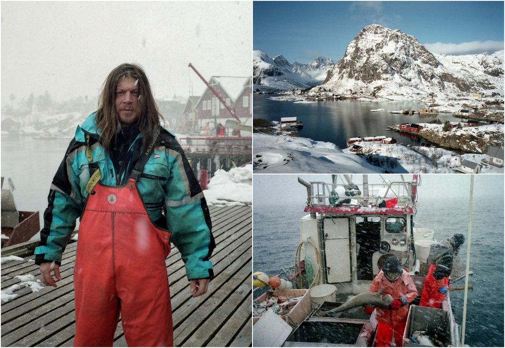 Известный фотограф стал рыбаком: Тим Франко устал от города