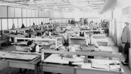 Чертежи до AutoCAD: рабочие будни инженеров на архивных фотографиях