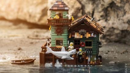 Ожившее LEGO и этапы подготовки к чудо-снимку