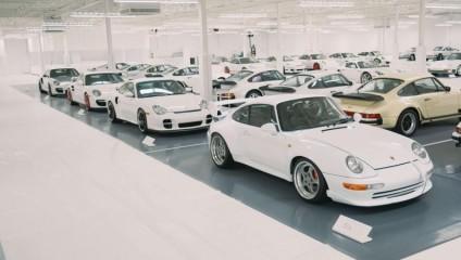 Самая большая коллекция белых Porsche