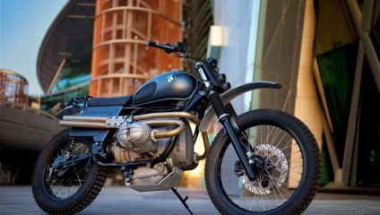 Модернизация мотоцикла BMW R80 для езды по пустыне в фото