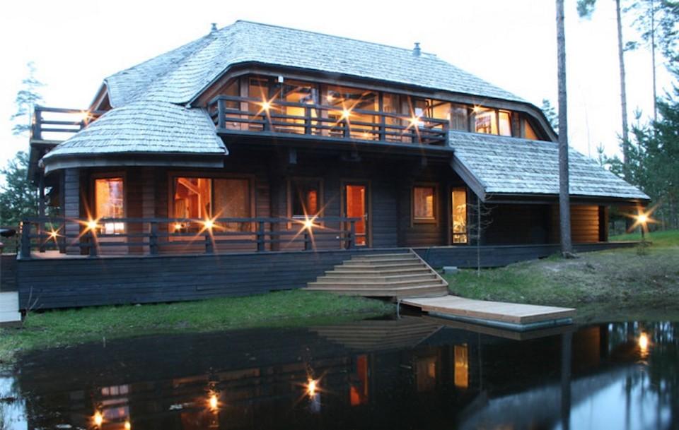 Поселок миллионеров в Латвии