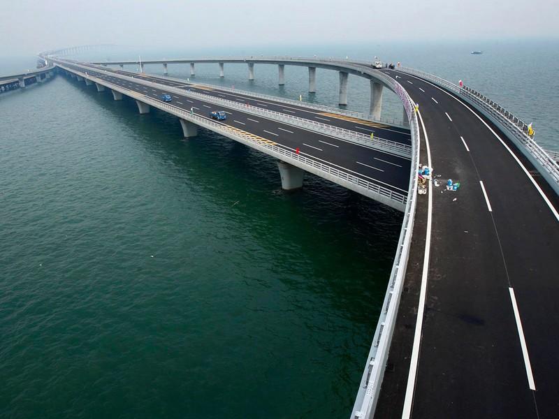Мост через Вэй (Китай) — 80 км