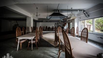 Роскошь и пустота: заброшенный отель в Японии