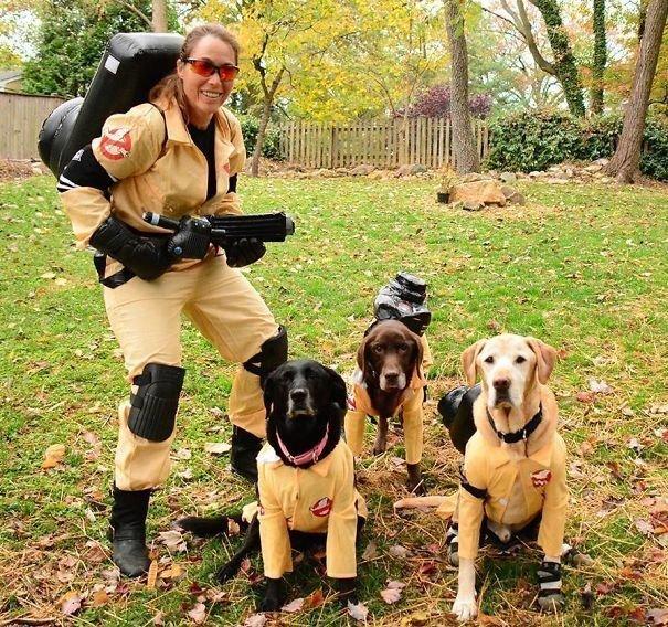 Самые необычные костюмы на Хэллоуин