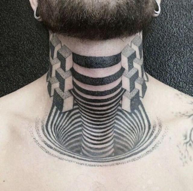 3D_татуировки и оптические иллюзии на коже (12)