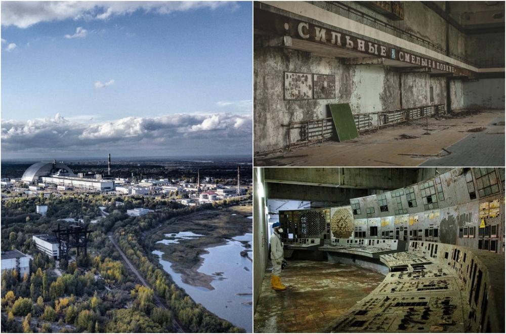 Чернобыль и не только в фотографиях Джеффри Гарриока