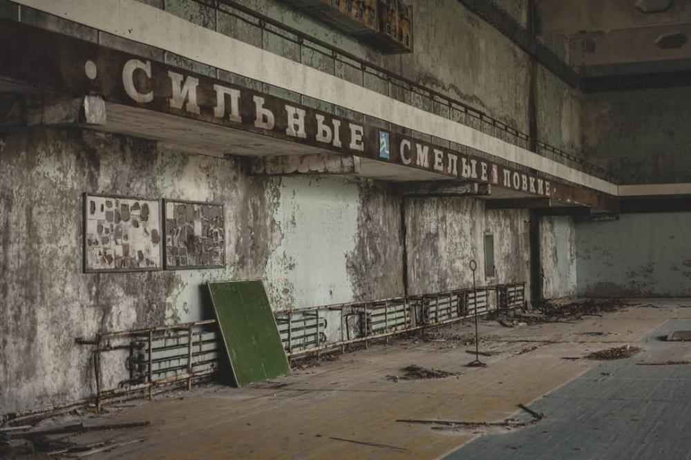 Чернобыльская зона отчуждения и другие интересные места на фото Джеффри Гарриока (7)