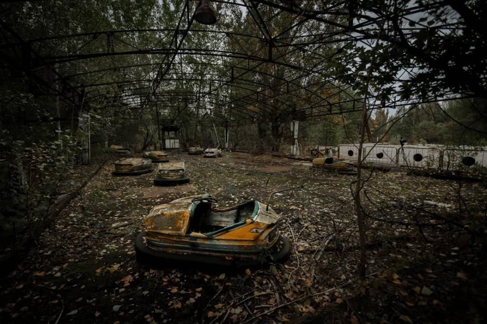 Чернобыльская зона отчуждения и другие интересные места на фото Джеффри Гарриока (8)