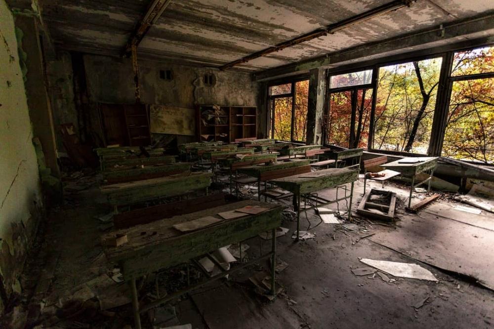 Чернобыльская зона отчуждения и другие интересные места на фото Джеффри Гарриока (9)