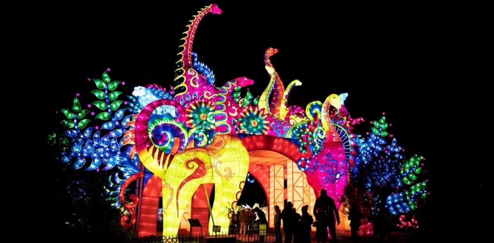Фестиваль света в Париже (1)