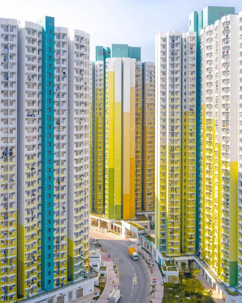 Гонконг на фотографиях Виктора Ченга (6)
