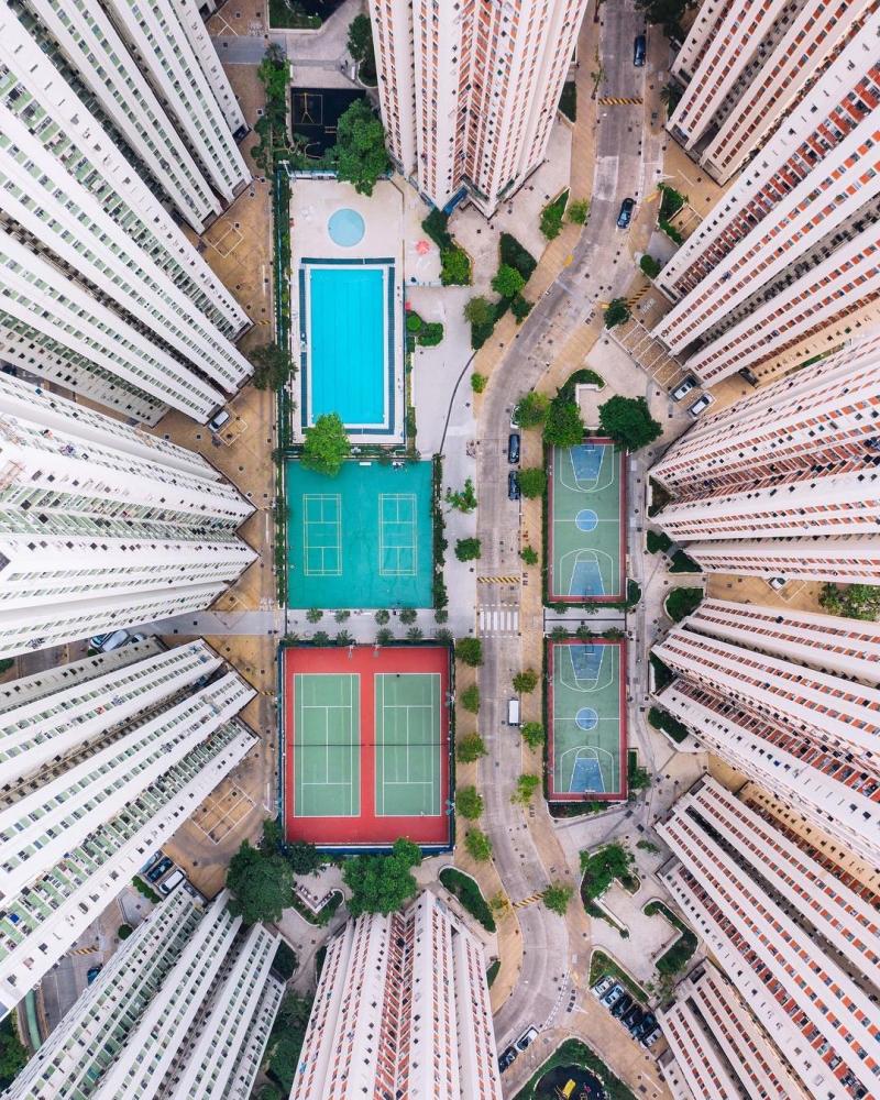 Гонконг на фотографиях Виктора Ченга (7)
