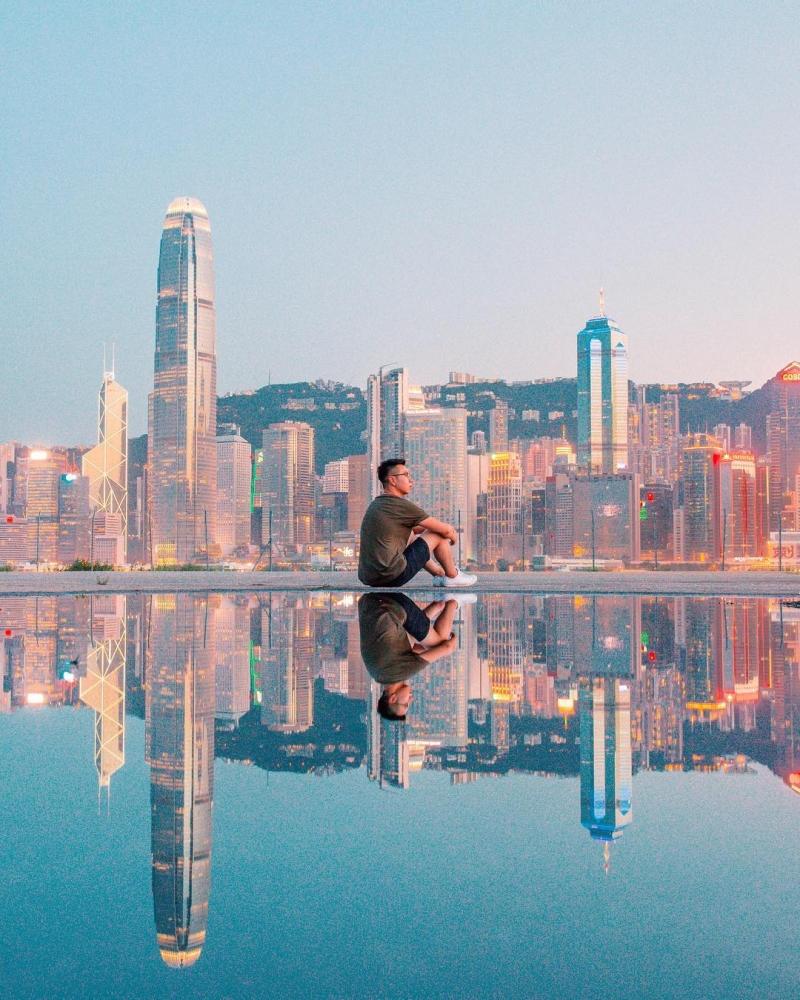 Гонконг на фотографиях Виктора Ченга (8)