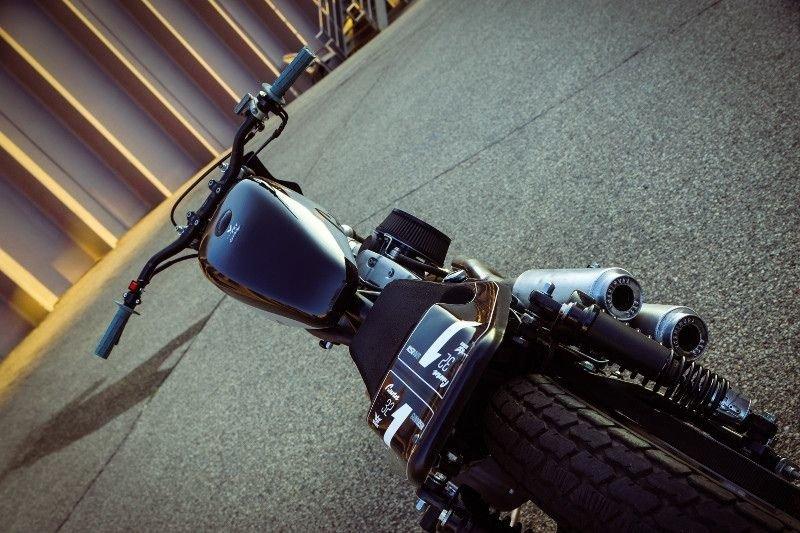 Gunn Design_ трекер Harley_Davidson Sportster Super Hooligan_14 фото _ 1 видео_ (11)
