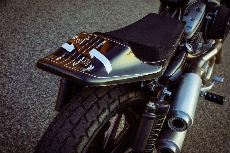 Gunn Design_ трекер Harley_Davidson Sportster Super Hooligan_14 фото _ 1 видео_ (12)