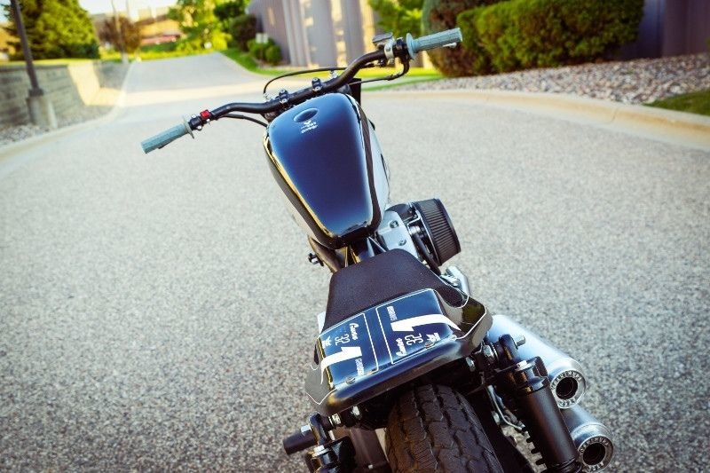Gunn Design_ трекер Harley_Davidson Sportster Super Hooligan_14 фото _ 1 видео_ (4)