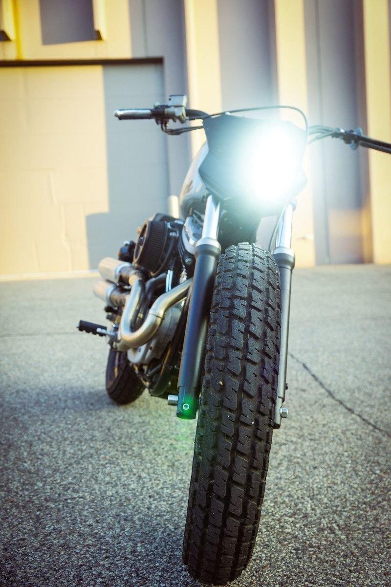 Gunn Design_ трекер Harley_Davidson Sportster Super Hooligan_14 фото _ 1 видео_ (5)