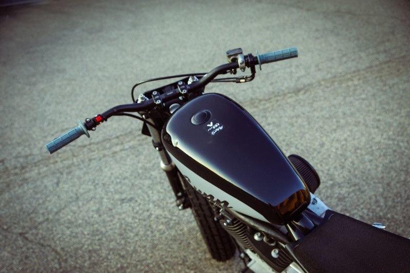 Gunn Design_ трекер Harley_Davidson Sportster Super Hooligan_14 фото _ 1 видео_ (6)