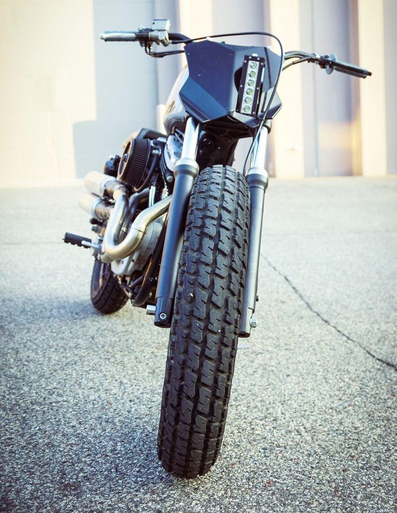 Gunn Design_ трекер Harley_Davidson Sportster Super Hooligan_14 фото _ 1 видео_