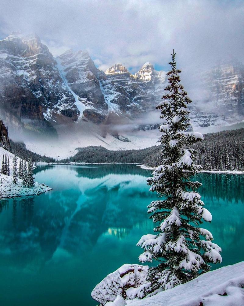 Красивые канадские пейзажи на снимках Робин Лоренсон (4)
