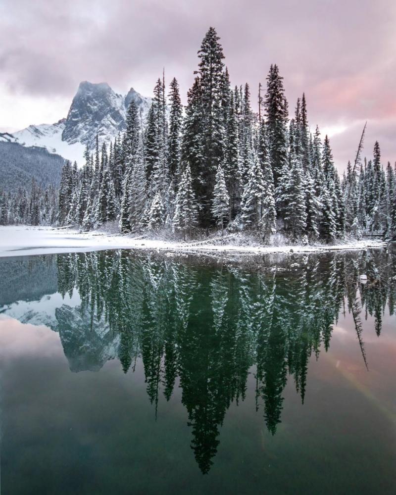 Красивые канадские пейзажи на снимках Робин Лоренсон (6)