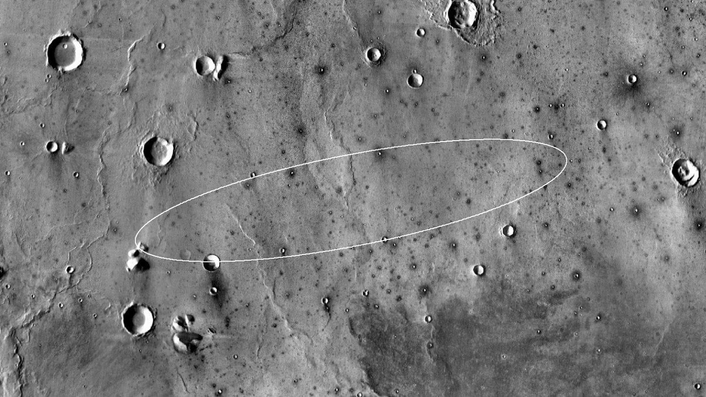 Опубликованы первые фотографии с поверхности Марса (3)
