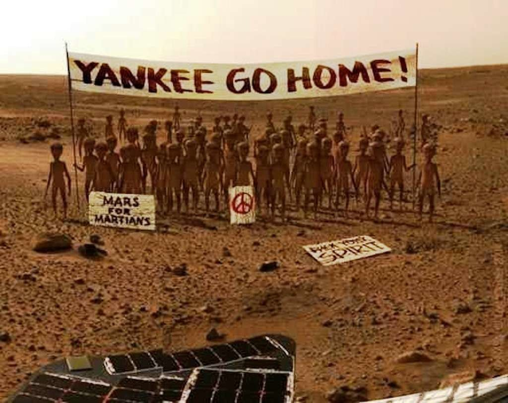 Первые фотографии с Марса в 2018 году