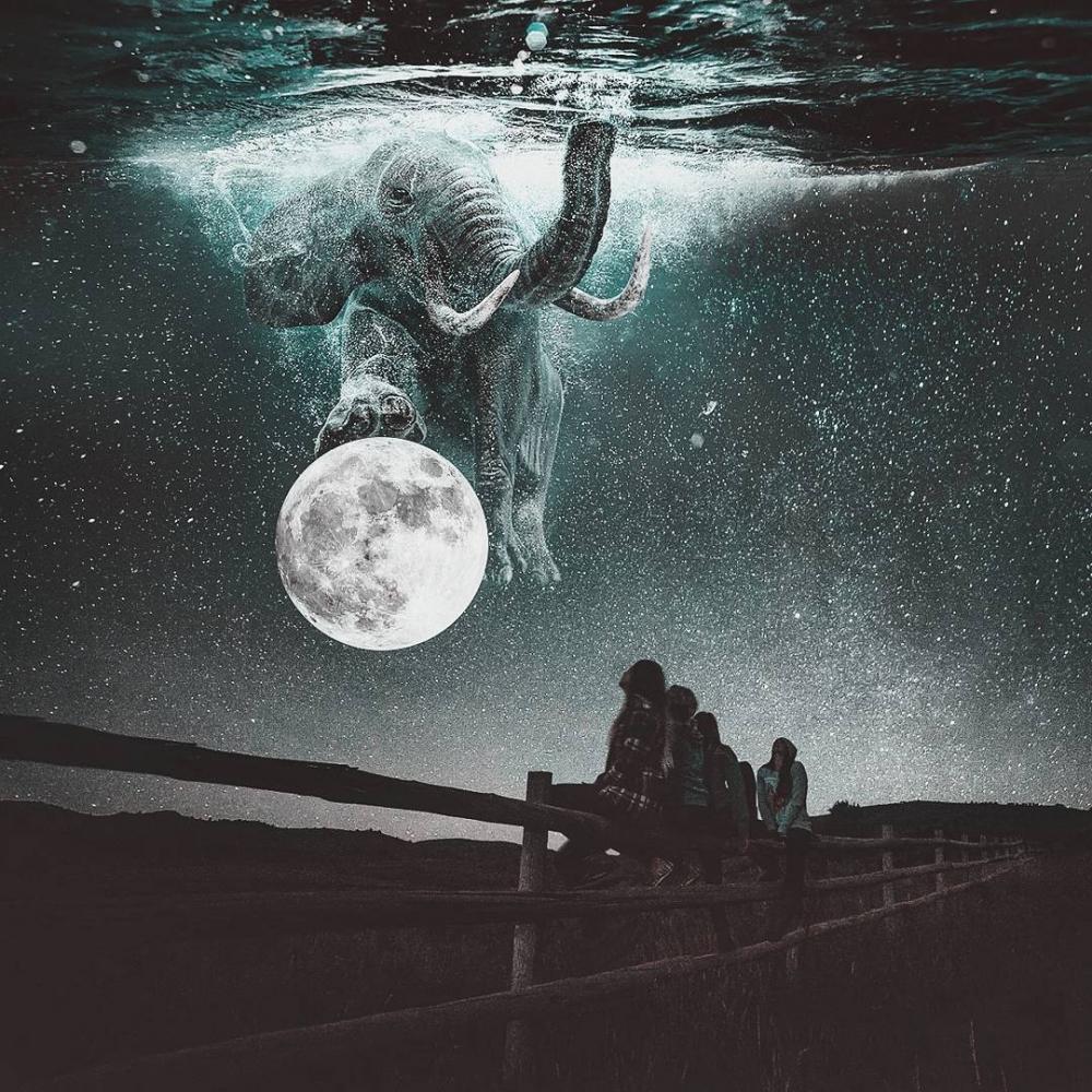 Удивительные фотоманипуляции Джастина Майна (5)