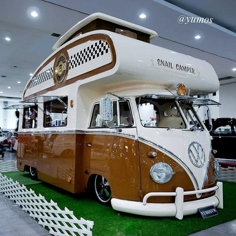 Volkswagen T1 _ кемпер из Индонезии от _Yumos Garage__21 фото _ 1 видео_ (4)