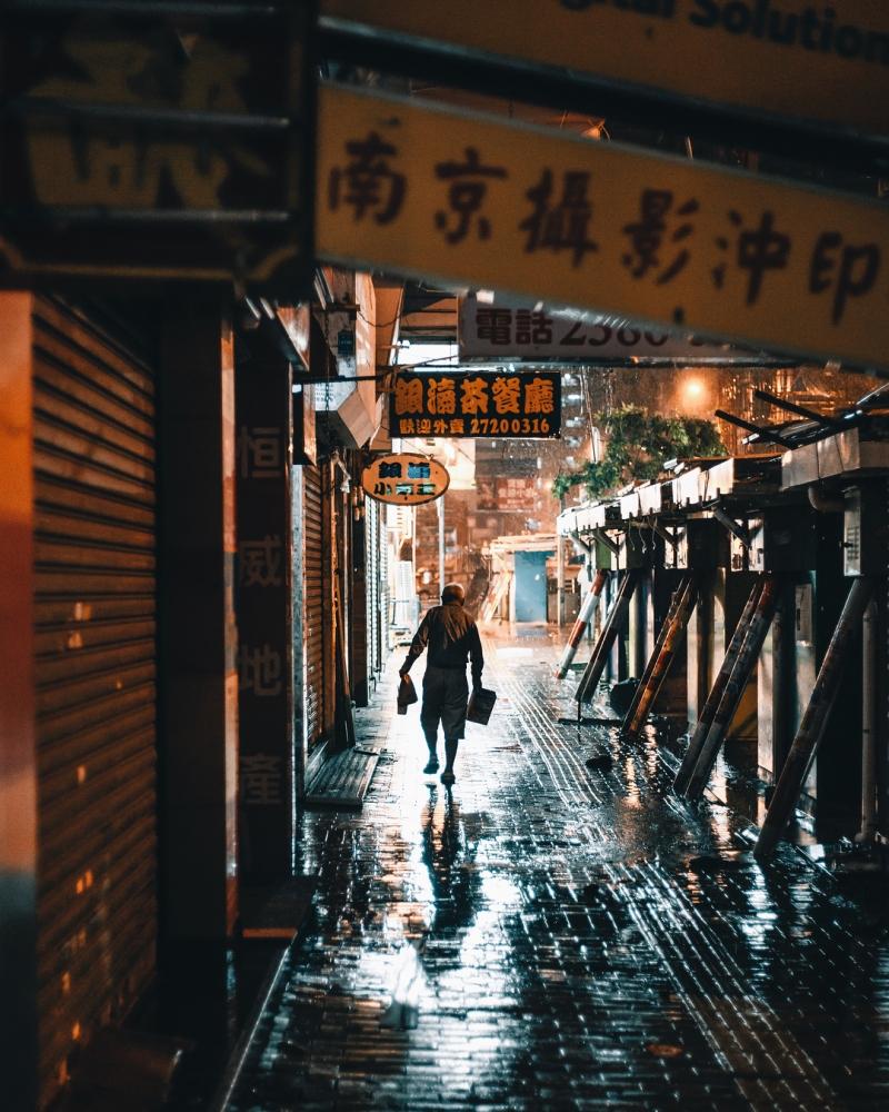 Яркие уличные фотографии Гонконга Дональда Чана (1)