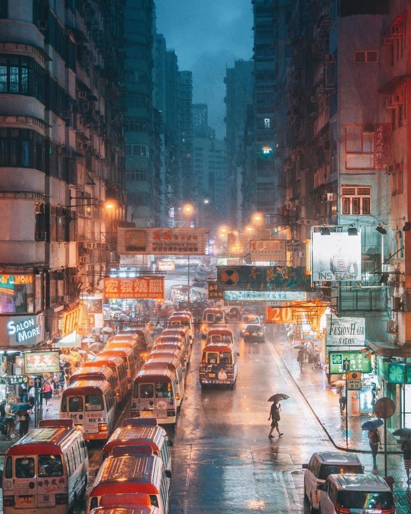 Яркие уличные фотографии Гонконга Дональда Чана (2)
