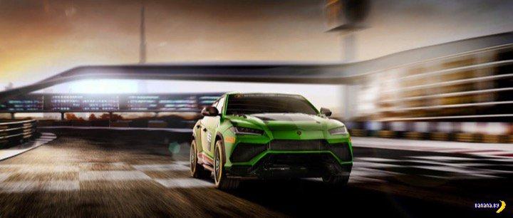 Новинка от Lamborghini: фото разрабатываемого гоночного кроссовера