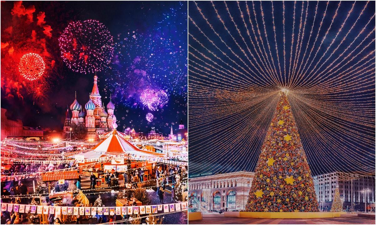 Сказочная новогодняя Москва на снимках Кристины Макеевой