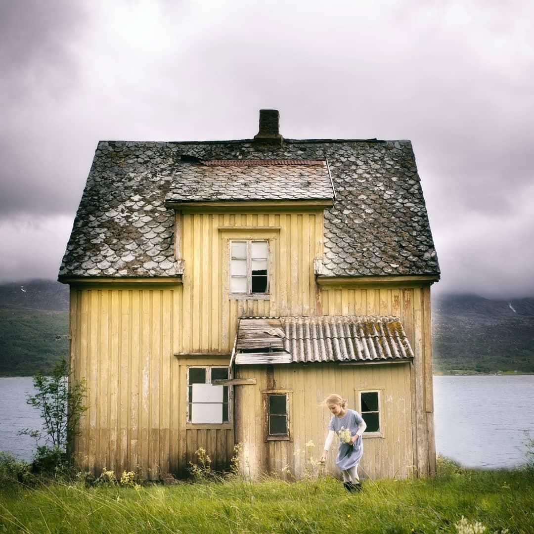 Заброшенные дома глазами норвежского фотографа Бритт Бай