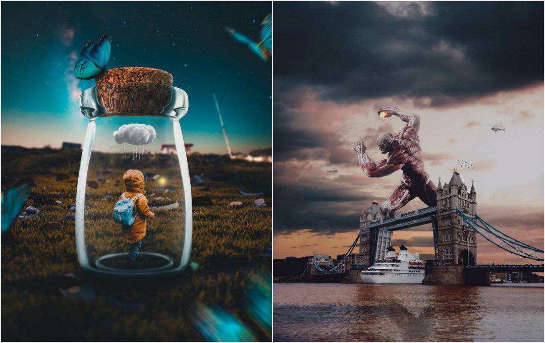 Потрясающие сюрреалистические работы Ризала Авиба