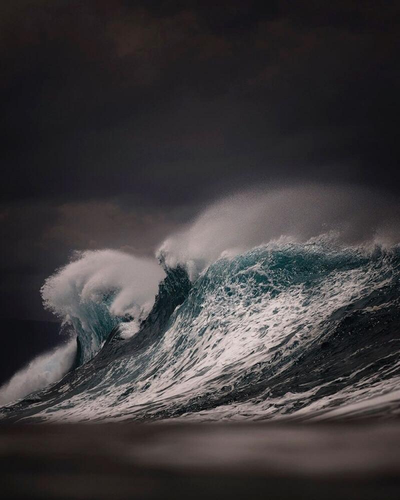 Морские пейзажи Рэя Коллинза (9)