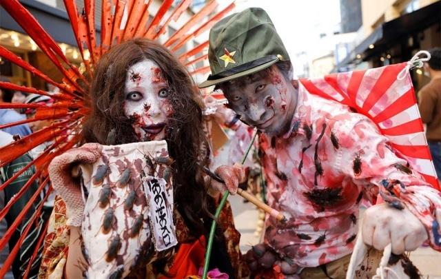 Парад в честь Хэллоуина в Японии (17 фото) (10)