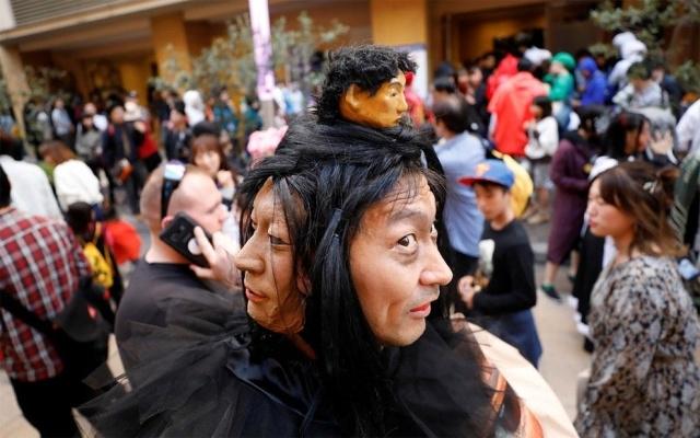 Парад в честь Хэллоуина в Японии (17 фото) (12)