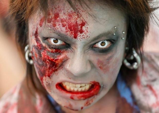 Парад в честь Хэллоуина в Японии (17 фото) (13)