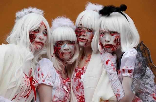 Парад в честь Хэллоуина в Японии (17 фото) (15)
