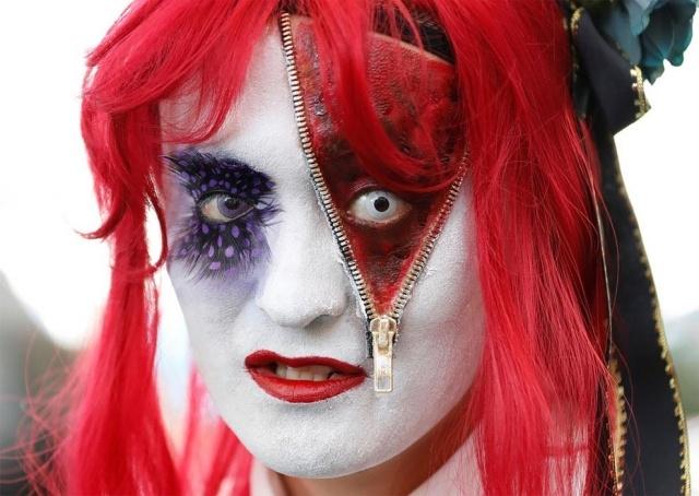 Парад в честь Хэллоуина в Японии (17 фото) (16)