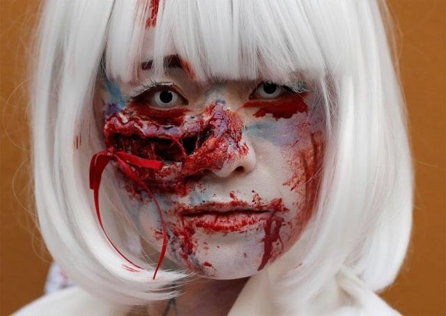 Парад в честь Хэллоуина в Японии (17 фото) (4)