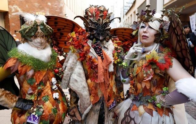 Парад в честь Хэллоуина в Японии (17 фото) (5)