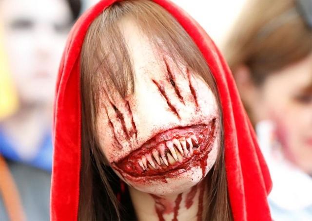 Парад в честь Хэллоуина в Японии (17 фото) (7)